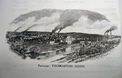 Seth Thomas Factory in Thomaston, Ct.