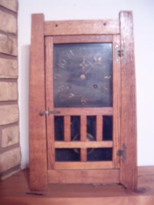 Santa Clara Mantel Clock