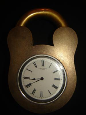 A Golay Leresche A Geneve Deck Clock