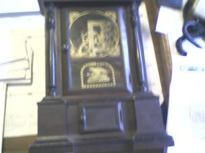Bottom of clock