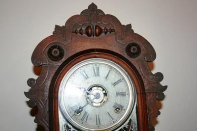 Clock top