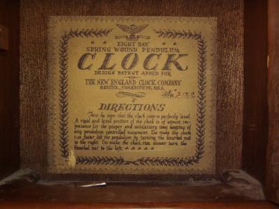 Clock's Label