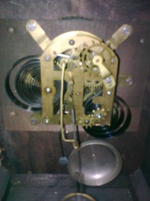 Auction Mantel Clock - movement 2