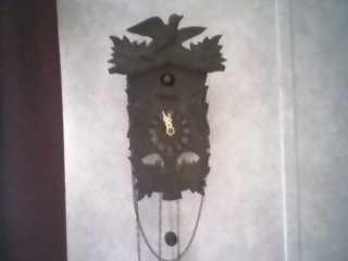 WWI Cuckoo Clock