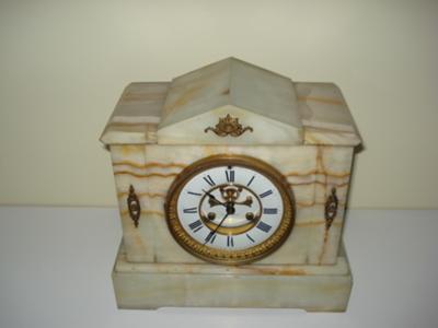 E N Welch Mantel Clock