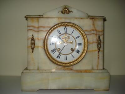 E N Welch Mantel Clock 2