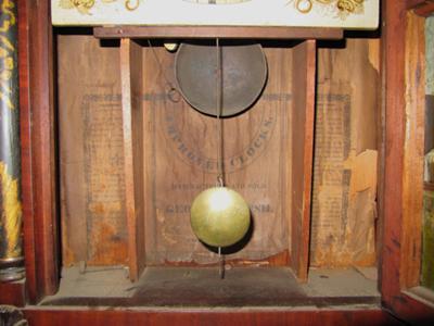George Marsh Clock - inside