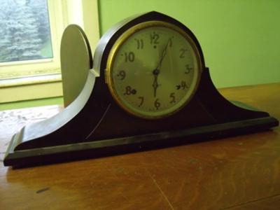 Gilbert Tambour Mantel Clock