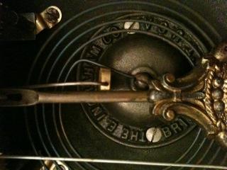 Clock's Pendulum and Gong
