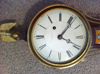 Banjo Clock Dial