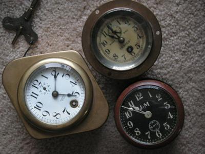 Automobile Dash Clocks