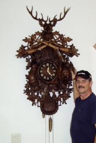 Large Cuckoo Clock