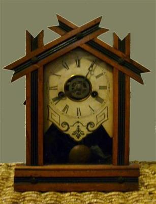 Ingraham pendulum alarm clock