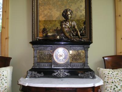 Ansonia Columbia Clock
