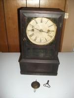 J C Brown Clock