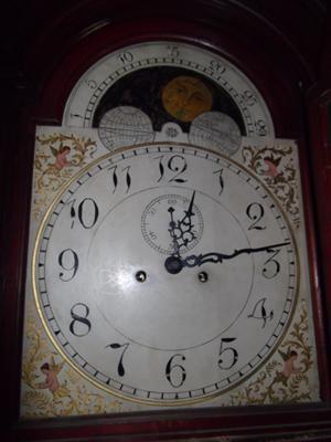 Tall clock dial