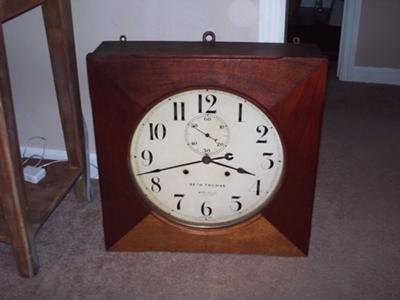 Seth Thomas - WC Ball clock