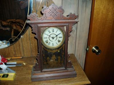 E. N. Welch Kitchen Clock