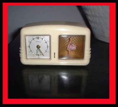 A Wind-up Dancing Ballerina Clock