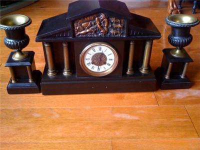 Heavy Mantel Clock