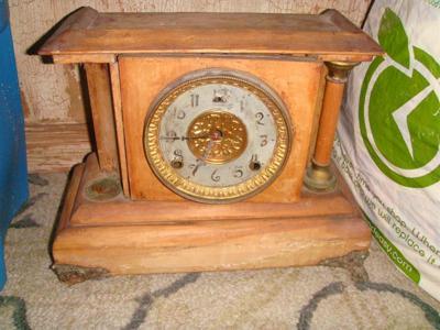 Priscilla Clock mfg by William Gilbert