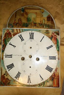 Dial Scottish Clock