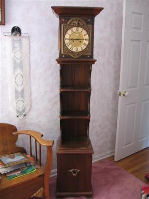 Grandmother's Hutch Clock