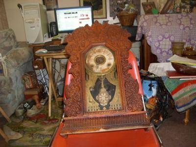 William L. Gilbert  Kitchen Clock