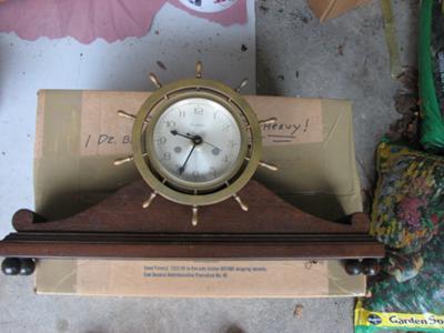 Waterbury Marine Clock