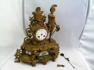 Figural Clock
