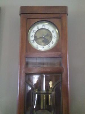 Gustav Becker Clock dial
