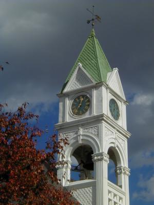 1888 Seth Thomas Tower Clock Bordentown, NJ, USA