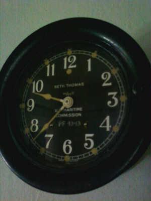 Seth Thomas Ship Bell Clock