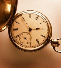 An Old Key Wind Pocket Watch