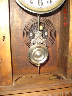 Inside Door Ansonia Clock