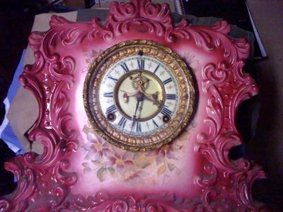 Ansonia Clock - Front