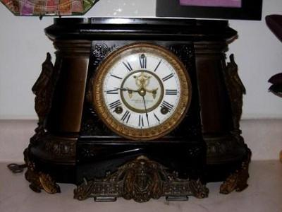 Ansonia Mantel Clock - front