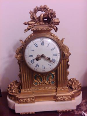 1879 ANTIQUE CLOCK