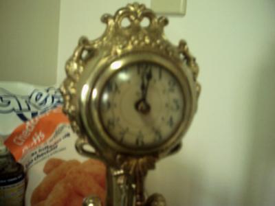 United Metal Goods Clock