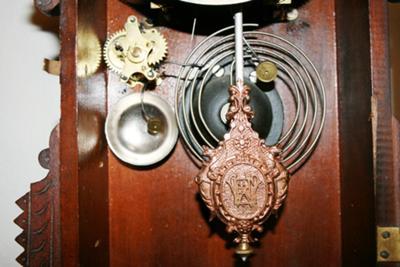 Clocks Pendulum and Gong