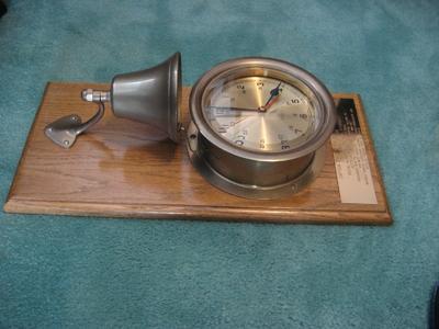 Ship bell clock
