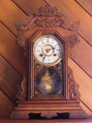 Antique Parlor Clock