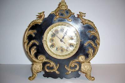 The Viking Dragon Head Clock