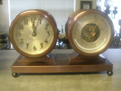 Chelsia Ship's Bell Clock