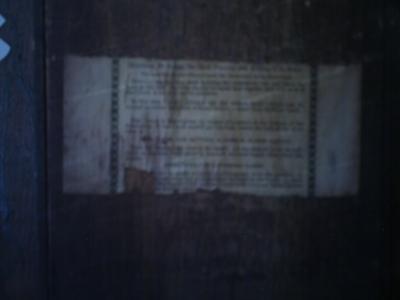 Waterbury Clock Label