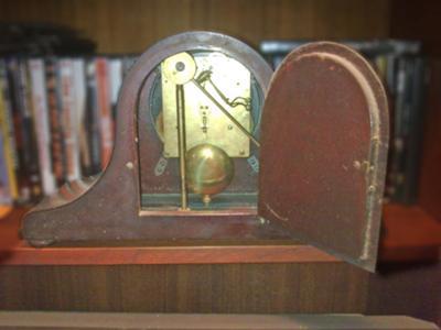 Antique clock's movement