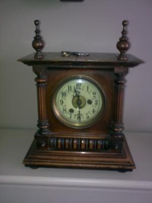 Auction Mantel Clock