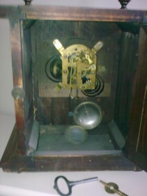 Auction Mantel Clock - movement