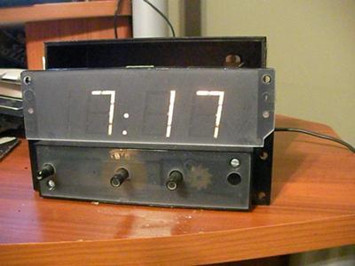 GE Digital Clock