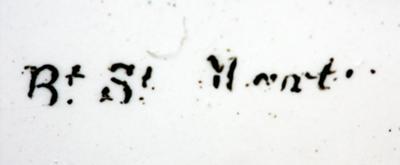 Maker's name on dial